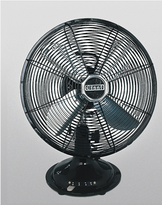300mm Black Desk Fan