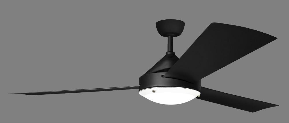 Milano Matt Black with LED Light Kit