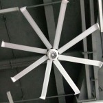 Diamond fan at firm house