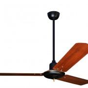Colonial-matt-black-with-Dark-Wood-FInish-Metal-Blades-1-meter-Pole